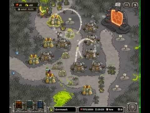 Kingdom Rush - Level 15 (Campaign, Premium Content) - Rotten Forest