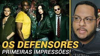 A primeira temporada de Os Defensores, série da Marvel junto com a Netflix, ainda não foi lançado, mas eu e a imprensa já tivemos acesso aos quatro ...
