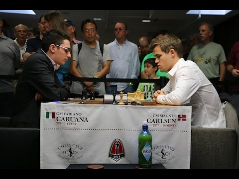 2014 Sinquefield Cup.Carlsen vs Caruana (Bishop opening)