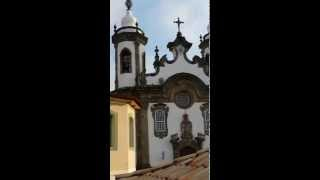 Title in English: Bell concert in the Church of Our Lady Of Mount Carmel in São João Del Rei, excerpt (Minas Gerais, Brazil) Título...