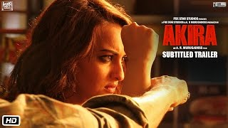 Nonton Akira   Official Subtitled Trailer   Sonakshi Sinha   A R  Murugadoss   Releasing 2nd September 2016 Film Subtitle Indonesia Streaming Movie Download