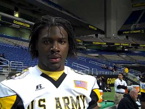 Army All-American Bowl - Ronald Powell video.