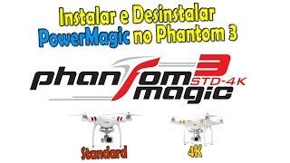 Instalar e Desinstalar Magic Power, aumentar alcance e distância do Phantom 3 Standard e 4k Link para baixar o sistema:...