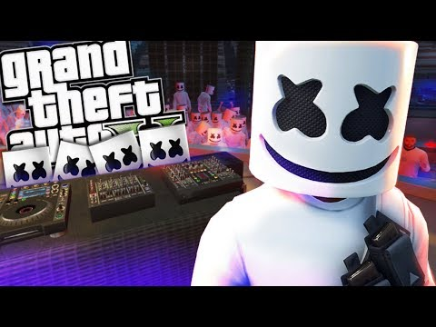 DJ MARSHMELLO IS CLONED MOD (GTA 5 PC Mods Gameplay)