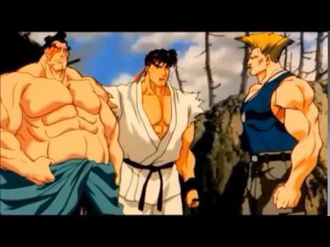 Filmes de animação completos dublados 2017 lançamento - Street Fighter II O filme