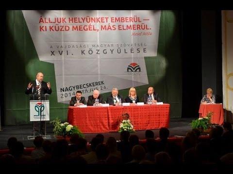 Híradó - Közgyűlést tartott a VMSZ-cover