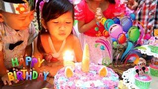 Video Selamat Ulang Tahun Hana ke-5. Surprise Cake Birthday Potong Kue Ulang Tahun di Rumah.Happy Birthday MP3, 3GP, MP4, WEBM, AVI, FLV April 2019