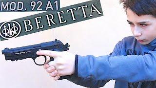 Video FULLY AUTOMATIC BB GUN - Beretta 92 A1 with Robert-Andre MP3, 3GP, MP4, WEBM, AVI, FLV Desember 2018