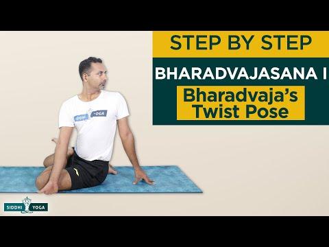 Bharadvajasana I (Bharadvaja's Twist)
