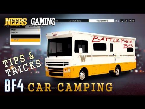 Battlefield 4 Car Camping - Tips & Tricks