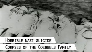 Corpses Of Joseph And Magda Goebbels And Their Six Children