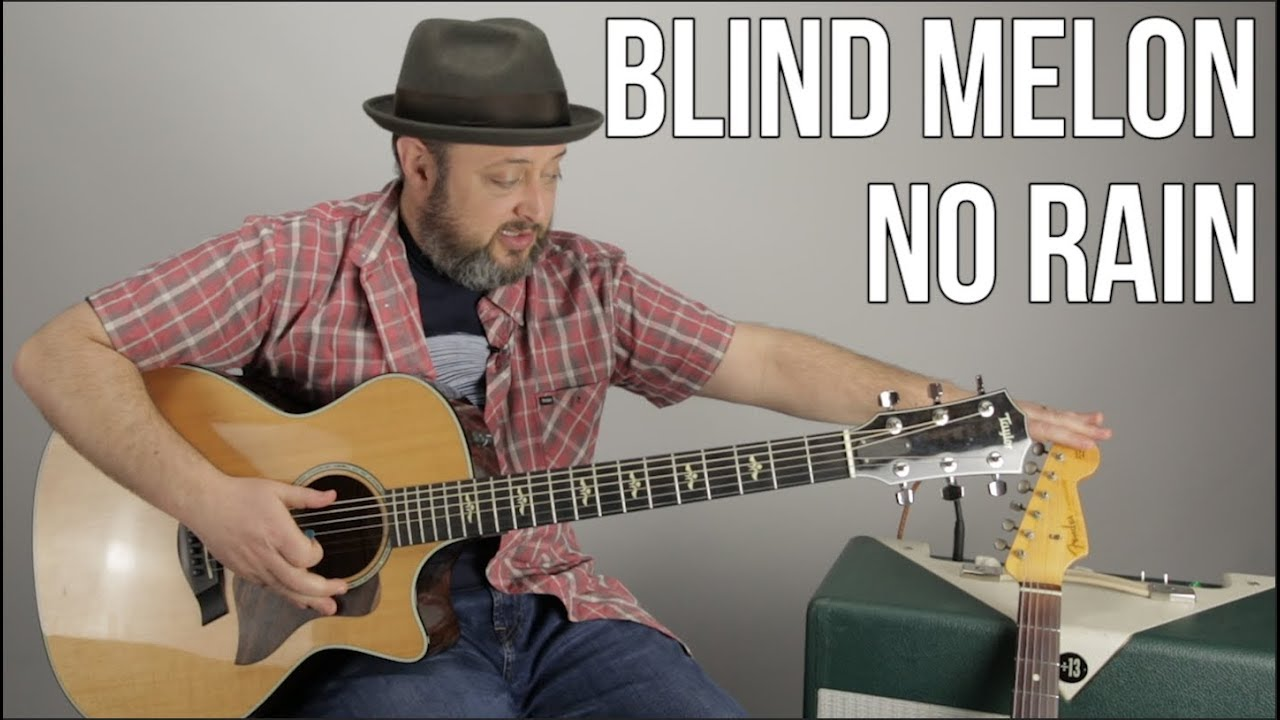 "How to Play ""No Rain"" by Blind Melon on Guitar – Easy Acoustic Guitar"