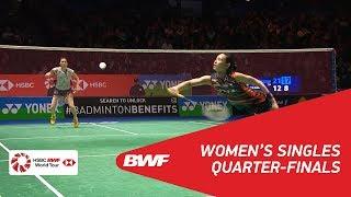 Download Video WS | TAI Tzu Ying (TPE) [1] vs Aya OHORI (JPN) | BWF 2018 MP3 3GP MP4