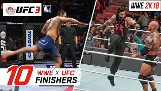 Nonton Ea Sports Ufc 3   Top 10 Wwe Finishers Film Subtitle Indonesia Streaming Movie Download