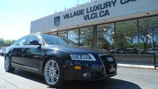 2009 Audi A6 S-Line In Review - Village Luxury Cars Toronto