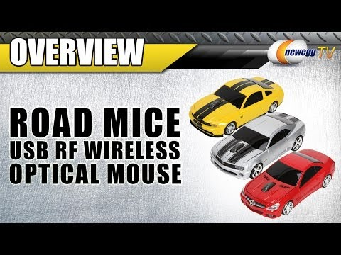 Road Mice USB RF Wireless Optical Mouse Overview - Newegg TV