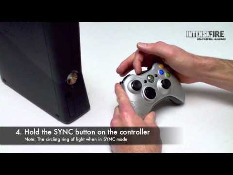 how to connect a xbox 360 remote control