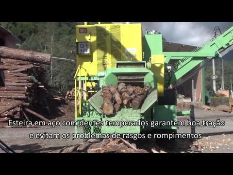 Picador Florestal a Tambor de Alta Produção PTML 240-320X600 Plus
