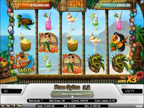 Tiki Wonders Slot - Free Spins feature