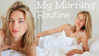 Model Summer Morning Routine | Skincare, Food, & My Diet | Sanne Vloet
