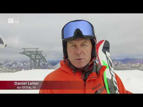 Erster Skitag am Rettenbachferner Sölden
