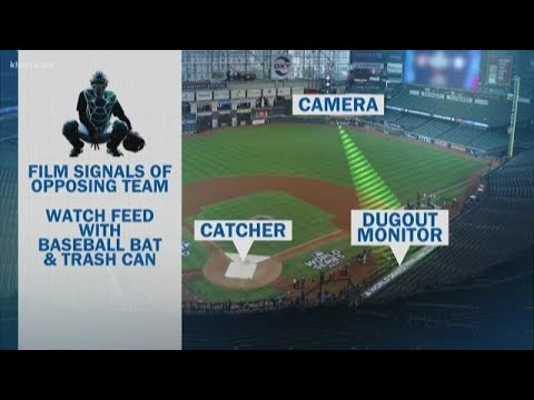 How the Astros' sign-stealing scheme is different from others