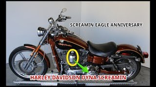 10. Harley Davidson Dyna Screamin' Eagle Anniversary