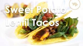 Sweet Potato Lentil Tacos