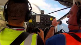 Wynyard Australia  city images : A22LS Foxbat flying lesson 1 at Wynyard aero club, Tasmania, Australia 12/03/16