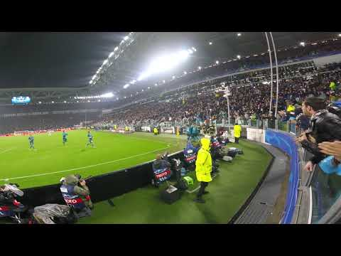 CR7 Amazing Gol Live Curva Nord  JUVENTUS REAL MADRID 3/4/2018