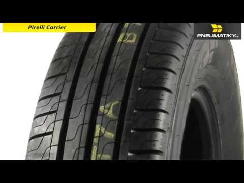 Youtube Pirelli CARRIER 195/75 R16 C 107/105 T Letní
