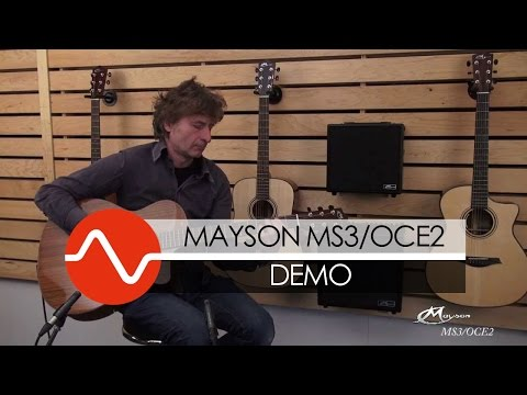 Mayson MS3/OCE2 Smart Concept guitar DEMO