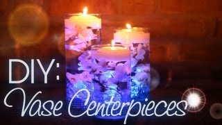 DIY: Vase Centerpieces - YouTube