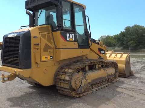 Caterpillar ÎNCĂRCĂTOARE CU ŞENILE 963D equipment video Gpl9KrPyzMo