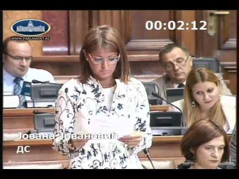 Јована Јовановић о амандманима на измене Закона о јавном информисању и медијима