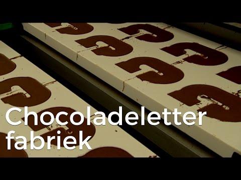 Hoe worden chocoladeletters gemaakt? | Het Klokhuis