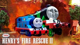 Thomas & Friends: Tenders to the Rescue! | Henry's Fire Rescue Ep. #2 | Thomas & Friends