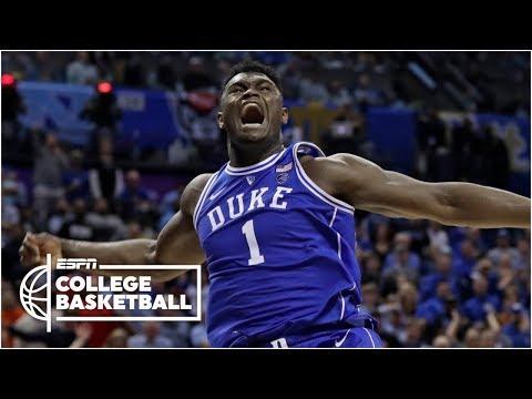 Zion Williamson scores 31 in Duke's win vs. North Carolina   College Basketball Highlights
