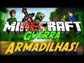 Minecraft Guerra 5: ARMADILHAS! #3