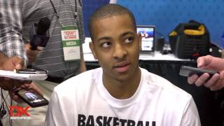 C.J. McCollum Draft Combine Interview