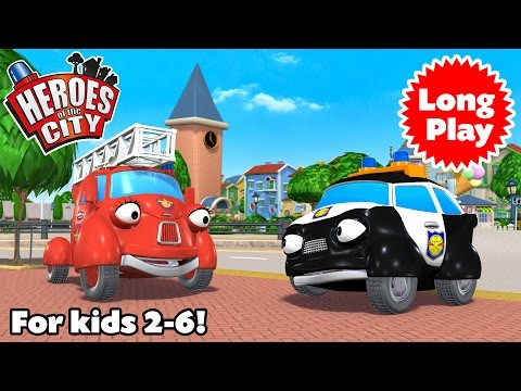 Heroes of the City - Preschool Animation - Non-Stop!  Long Play - Bundle 01