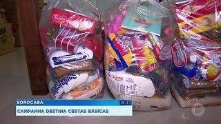 Sorocaba: campanha arrecada dinheiro para cestas básicas