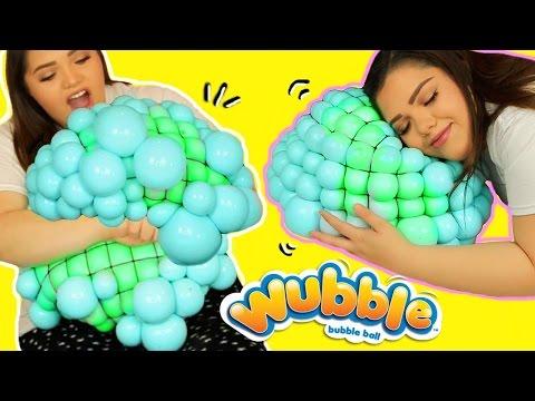 DIY GIANT MESH SLIME STRESS BALL! Super Cool Giant Stress Ball!
