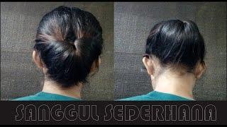 Video Cara Menyanggul Rambut Sendiri, Cara Menyanggul Rambut Sederhana,  Cara Menyanggul Rambut Simple MP3, 3GP, MP4, WEBM, AVI, FLV Mei 2019