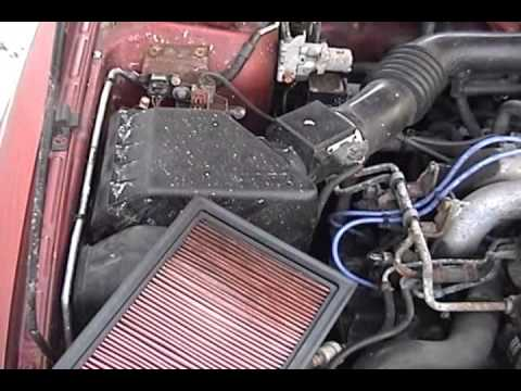 1995 Subaru Legacy L Outback: DIY – air filter replacement