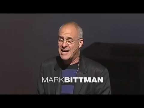 TED Global - Mark Bittman - What's wrong with what we eat (2007) онлайн видео