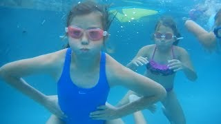 Don't forget to subscribe! http://www.youtube.com/theweisslifeIn today's family vlog - The girls go underwater swimming in our new pool!*Follow us on Instagram, Facebook and Twitter to stay up to date on our family and the new baby!Instagram: http://www.instagram.com/theweissfamFacebook: http://www.facebook.com/theweisslifeTwitter: http://twitter.com/TheWeissLifeMusical.ly: The Weiss LifeVideo filmed with: Canon PowerShot G7 X Mark II http://amzn.to/2iPmFMO (Affiliate link)Support us on Patreon: https://www.patreon.com/theweisslifeSend Us Mail!The Weiss Life69 Lincoln Blvd. Suite-A #267Lincoln, CA 95648THE WEISS LIFE is a fun family vlog channel that features the Weiss family! We do fun Challenges, Giveaways, Family Vlogs, Mommy & Pregnancy Vlogs, Build A Bear, Toys, Holidays like Halloween, Christmas & Easter, Birthday Parties, Gymnastics, Sidewalk Super Girls Superhero Skits, Costume Fashion Shows, videos from our Travel Adventures and other Family Fun!Production Music courtesy of  www.epidemicsound.com