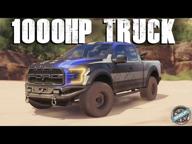 1000hp trophy truck 2017 ford f 150. Black Bedroom Furniture Sets. Home Design Ideas