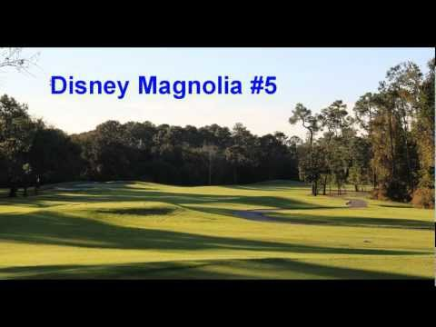 Orlando Golf Courses Disney Magnolia and Palm Golf Courses Tee Times Complete Reviews & Golf