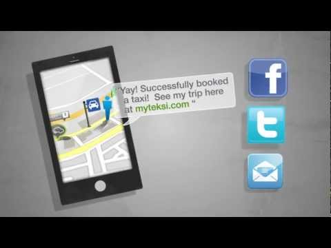 Video of MyTeksi: Taxi Booking App